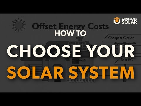 What are the different types of solar energy systems?